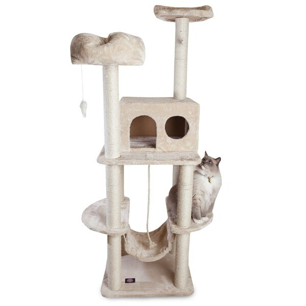 Casita Cat Furniture 76-inch Tree Condo