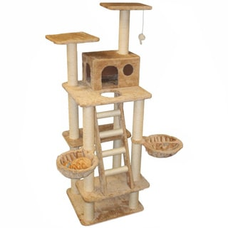 72-inch Casita Cat Furniture Tree Condo