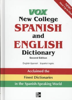 Vox New College Spanish and English Dictionary: English-spanish Espanol-ingles (Hardcover)