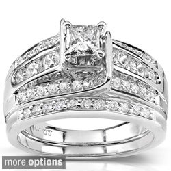 Womens wedding rings princess cut