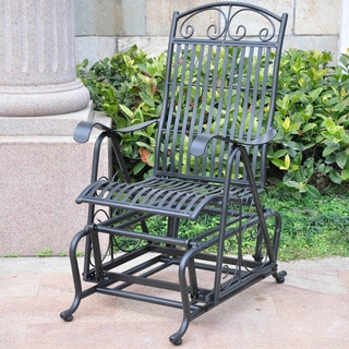 International Caravan Mandalay Iron Glider Chair
