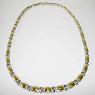 Pisces Link Design Magnetic Necklace