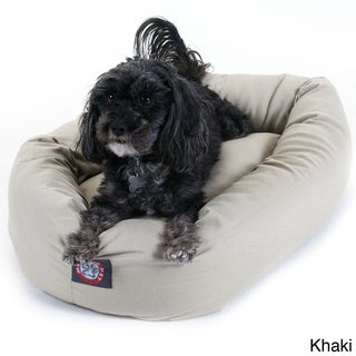 Small 24-inch Bagel Donut Pet Dog Bed
