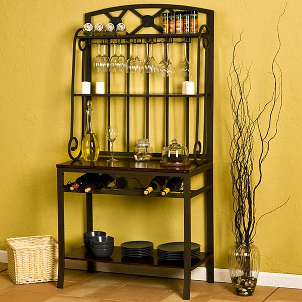 Upton Home Decorative Bakers/ Wine Storage Rack