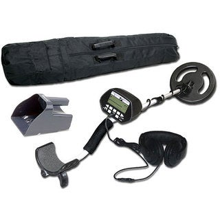 Treasure Cove Platinum Digital Metal Detector Set TC-3020
