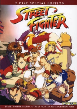 Street Fighter Alpha/Street Fighter Alpha: Generations 2PK (DVD)