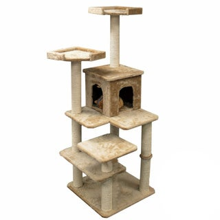 66-inch Casita Cat Furniture Tree Condo