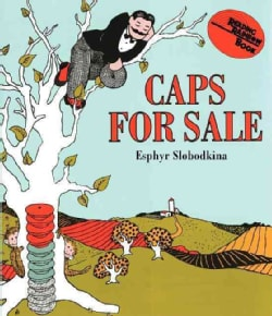 Caps for Sale: A Tale of a Peddler, Some Monkeys and Their Monkey Business (Board book)