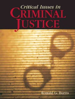 Critical Issues in Criminal Justice (Paperback)