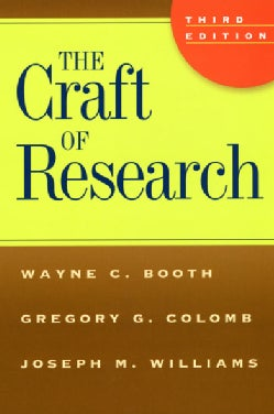 The Craft of Research (Paperback)