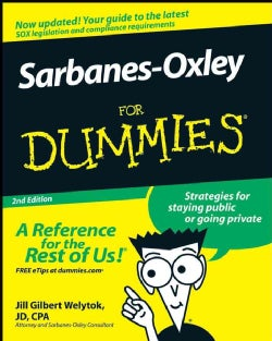Sarbanes-Oxley For Dummies (Paperback)