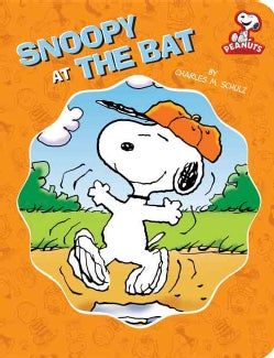 Snoopy at Bat (Board book)