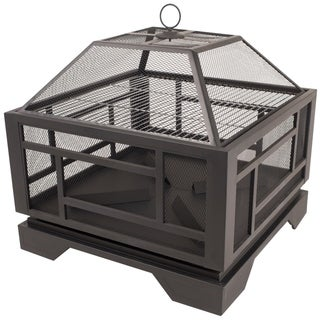 """Pleasant Hearth OFW526S 26"""" Solus Fire Pit"""