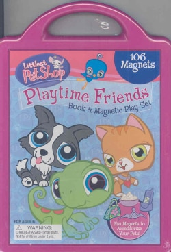 Playtime Friends: Book and Magnetic Playset