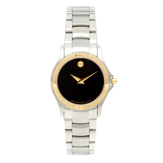 Movado Military Women's Two-tone Quartz Watch