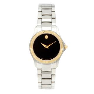 Movado Military Women's Two-tone Quartz Watch