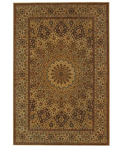 Safavieh Handmade Persian Court Timeless Ivory Wool and Silk Rug (6' x 9')