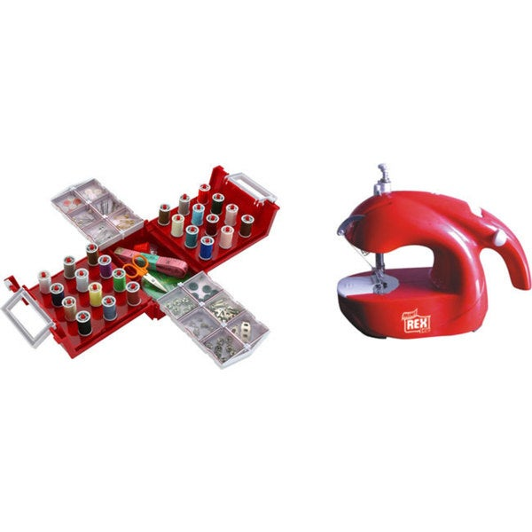 Mini Sewing Machine with Accessories