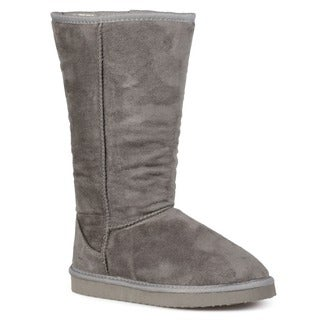 Journee Collection Women's Cold-weather Mid-calf Boot