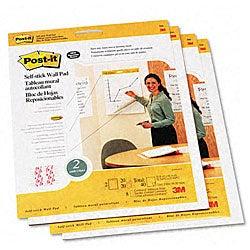 3M Self-Stick Wall Mount Pads - 20 Sheets/Pad (4 Pads/Carton)