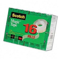 3M Scotch Magic Tape Rolls (Pack of 16)