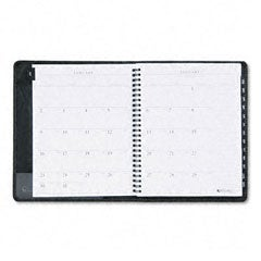 At-A-Glance Executive Weekly/Monthly Planner - 1 Week/Spread Black