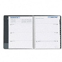 At-A-Glance DayMinder Weekly/Monthly Appt. Book - 1 Wk/Spread  Black