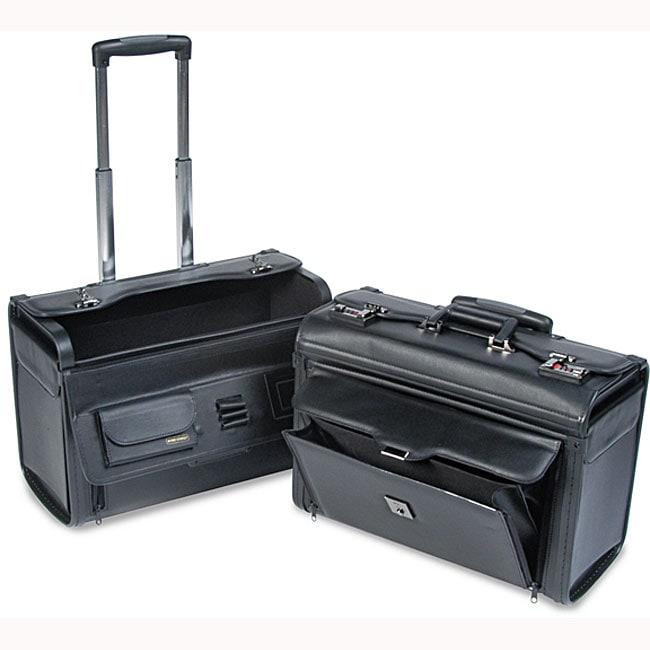 Computer/Catalog Case on Wheels