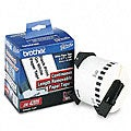 Brother Removable White Paper Tape for QL PC Label Printers - 2-3/7-inch x 100-Ft. Roll