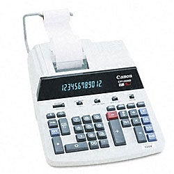 Canon CP1200D 2-Color High-Performance Ribbon Printing Calculator