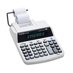 Canon P170DH 2-Color Roller Printing Calculator