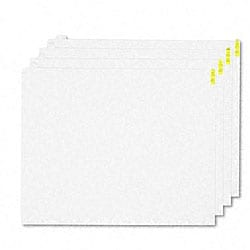 Clean Step Dirt Grabber Mat 60-Sheet Pad Refills - 4/Ctn
