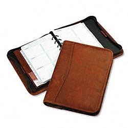 Brown Day-Timer Personal Organizer Starter Set