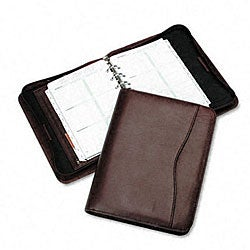 Day-Timer Organizer Starter Set Verona Burgundy Leather Binder