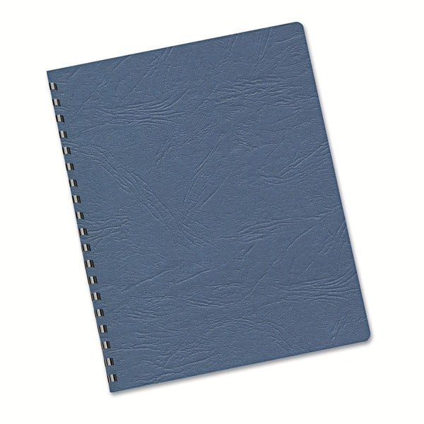 Fellowes 60# Grain Navy Texture Classic Binding Covers - 200/Pack