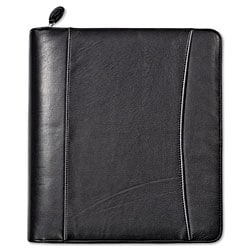 Franklin Looseleaf Nappa Leather 7-Ring Monarch Binder Organizer