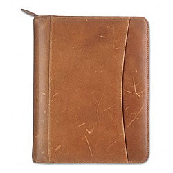 Franklin Looseleaf Distressed Leather Binder Organizer