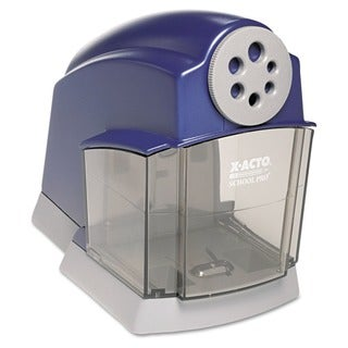 X-ACTO Blue/Gray School Pro Electric Pencil Sharpener