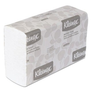 Kleenex Embossed MultiFold Towels - 150/Pack (16 Packs/Carton)