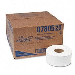 JRT Jr. 2-Ply Jumbo Roll Bathroom Tissue 1000 ft/Roll (12 Rolls per Carton)