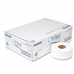 Jumbo Roll Toilet Tissue - 12 Rolls/Carton