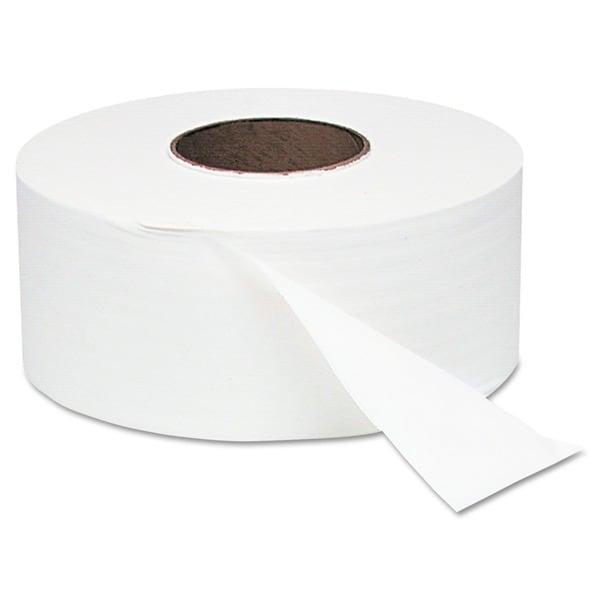 Jumbo Roll Toilet Tissue - 12 Rolls/Carton