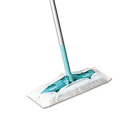 Swiffer Sweeper 10-inch Wide Mop - Green (Pack of 3)