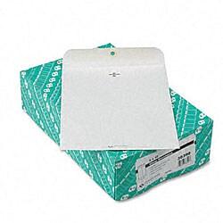 White Wove Clasp Envelopes - 9 x 12 (100/Box)