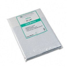 Recycled Jumbo Plain White Poly Mailers - 50/Pack