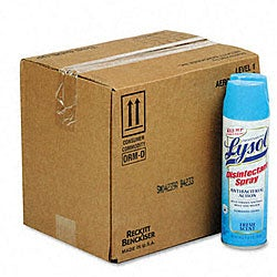 Professional Lysol II Disinfectant Spray - 12/Carton