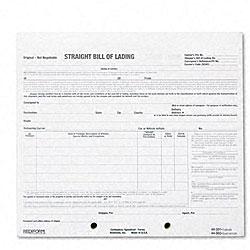 Snap-A-Way Bill of Lading - 250 Sets/Pk