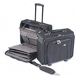Samsonite Ballistic Nylon Side Loader Mobile Office Notebook Carrying Case