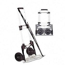 275-lb. Capacity Portable Slide-Flat Luggage/Dolly Cart