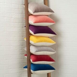 Mina Victory Life Styles Velvet 16 Inch Decorative Throw Pillow